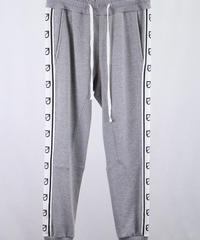 Bennu(ヴェンヌ)  110710501  / Bennu Logo line Jogger Sweat Pants