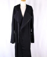 Bennu(ヴェンヌ)  110731101  / Rider's No-collar Long Coat