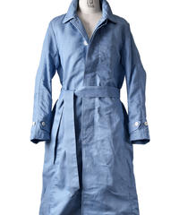 Bennu (ヴェンヌ)110541103 / C / L Denim Back Embroidery Stain Color Coat