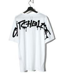 SWITCHBLADE (スウィッチブレード)1001104 / SPRAY LOGO TEE (五分袖)-WHITE
