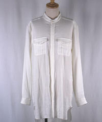 Bennu(ヴェンヌ)  110730408   /    Military No-collar Shirts