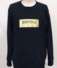 Bennu (ヴェンヌ)120810101/ Gold Foil Box Logo Big Trainer
