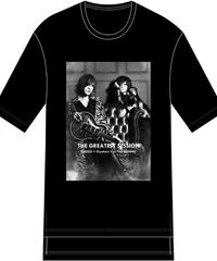 "FIFTY FIFTY (フィフティフィフティ)220110101 / ""SUGIZO×清春"" Special Session Hem Step Big Tee-BLACK"