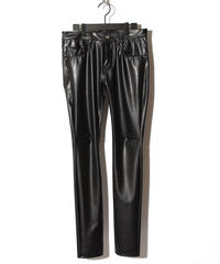 ys Yuji SUGENO (イース ユウジ スゲノ)  210140502 / Super Stretch Synthetic Leather Skinny Pants