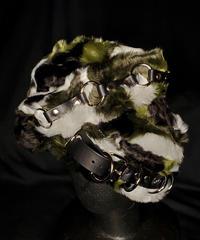 【ARTRICK×ニュリカデリック】Fur Harness/D.Belt Hat (camo)