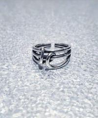 SILVER 925  Tie Ring