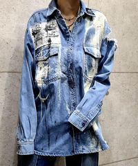 -ANARCHY-Damage Shirt (L)