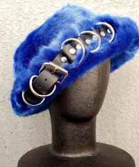 【ARTRICK×ニュリカデリック】Fur D.Belt Hat (blue)