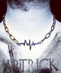 GLD&SLV Noise Necklace
