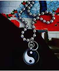 Yin Yang Ball Necklace