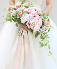 -Angeline -   GRAND BOUQUET/WEDDING (BOUQUET and RIBBON)