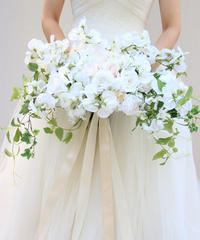 -Camille- GRAND BOUQUET/WEDDING (BOUQUET and RIBBON)