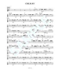 CHE.R.RY / YUI【ベース・タブ譜】