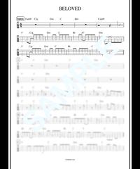 BELOVED / GLAY【ベース・タブ譜】