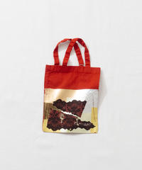 Lace tote bag RED/122
