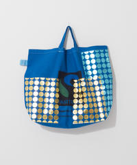 Big foil tote BLUE/285
