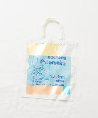 Lace tote bag WHITE/171