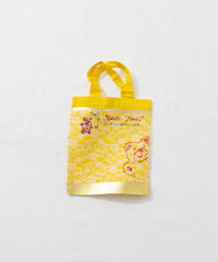 Lace tote bag YELLOW/131