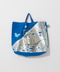 Big foil tote BLUE/284