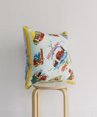 Souvenir scarf cushion /004