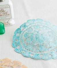 Textile lace BLUE/016