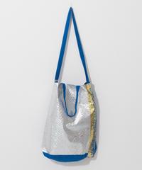 Big foil tote BLUE/280