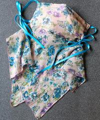 楊柳シルクフラワーマスク(ネックカバー付き)