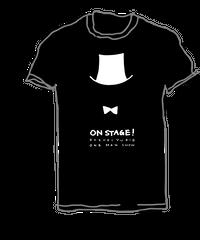 シックに決めて。ショータイムTシャツ(黒)