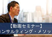 【動画セミナー】コンサルティング・メソッド
