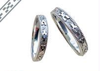 ミンサー指輪ペア プラチナ(pt950)– ペアリング –