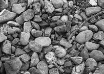 【写真】ジャリジャリの砂利