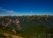 【写真】地と空を分ける稜線