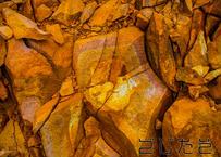 【写真】パッキパキの石