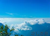 【写真】青空と雲