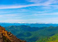 【写真】山の立体感