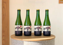 (4本セット)〜乾杯シードル!優しくなれるひとときを〜りんご屋まち子のアップルシードル【ミックス・375ml】