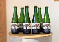(6本セット)〜乾杯シードル!優しくなれるひとときを〜りんご屋まち子のアップルシードル【ミックス・375ml】