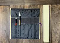 特製筆巻 (紙箱付内布袋付)濃紺