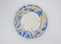 古川桜 色絵磁器ボタニカル皿22-5
