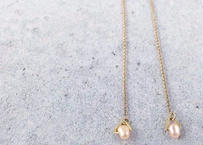 Pearl Chain Earrings (1pearl)
