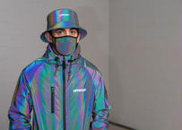 OFFICIAL RFLCTIV Rainbow Reflective Bucket Hat オフィシャル リフレクティブ バケット ハット