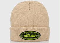 OFFICIAL WRLD Takeover Beanie (Beige)