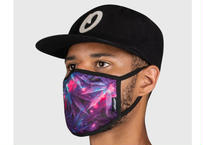 OFFICIAL Face Mask Space Weed Purple オフィシャル マスク