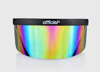 OFFICIAL RAINBOW MIRROR FACE VISOR EYE SHIELD