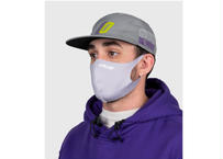 Official Nano-Polyurethane Face Mask (Light Grey) オフィシャル マスク