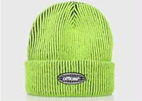 OFFICIAL Acid World 2-Tone Beanie (Volt Green)
