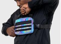 OFFICIAL RFLCTIV Rainbow Reflective Mini Chest Bag オフィシャルリフレクティブ ミニ チェストバッグ