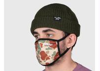 OFFICIAL Face Mask Duck Camo Beige オフィシャルカモフラージュマスク