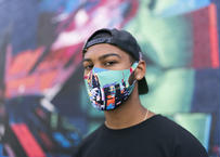 OFFICIAL Hightech Lowlife Circuitboard Face Mask オフィシャル マスク