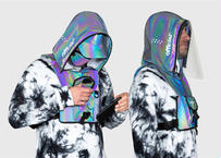 OFFICIAL Hood Shield Utility Chest Bag (Rainbow Reflective)